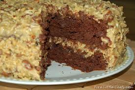 german chocolate cake five little chefs