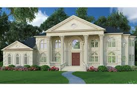 house plans with portico magnificent portico hwbdo64986 neoclassical from builderhouseplans com