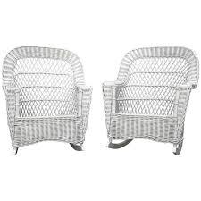 white wicker rocker outdoor resin wicker rocking chairs on