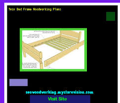 twin bed frame woodworking plans 201849 woodworking plans and