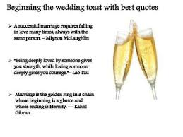 wedding toast quotes for wedding toasts weddings234