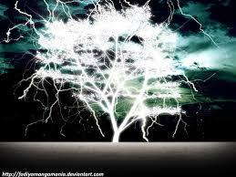the lightning tree by fadiyamangamania on deviantart