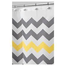 Target Gray Shower Curtain Chevron Shower Curtain Polyester Interdesign Target