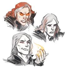 can someone recommend some specific fan art of sauron before his