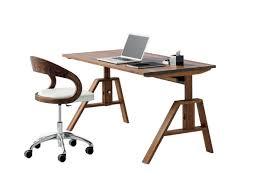 bureau à hauteur variable treteau reglable en hauteur maison design bahbe com