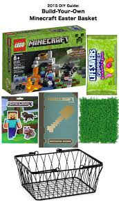 Build Your Own Gift Basket 2015 Diy Create Guide Ideas To Build Your Own Minecraft Easter