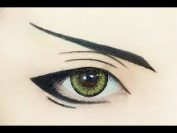 tutorial anime eye makeup 140 claude faustus you
