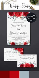 Red And Black Wedding Invitations Best 25 Red Wedding Invitations Ideas On Pinterest Red And