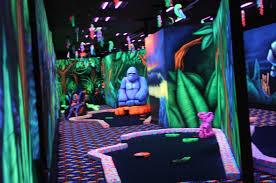 indoor black miniture golf indianapolis