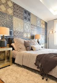 bedroom with wallpaper accent wall that you must have homesfeed