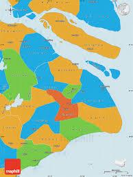 Shanghai Map Political Map Of Shanghai
