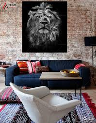 online get cheap lion print wall aliexpress com alibaba group
