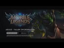 Light Of Dawn Mobile Legends Trailer New Hero Skin Argus Light Of Dawn Youtube