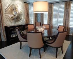 glass dining room table decor interior design