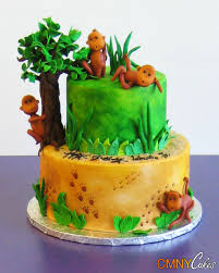 monkey in the jungle cake cmny cakes