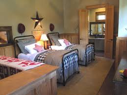 Two Twin Beds by Country Bedroom Two Twin Beds Star Accents Charming House Plans