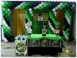 themed decorations themed birthday ben 10 decorations v decors and events 9488085050