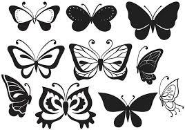 free butterflies vectors free vector stock