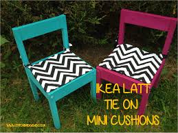 Ikea Childrens Picnic Table by Ikea Latt Chair Cushions Diy Super Easy Quilted Cushions For Kids