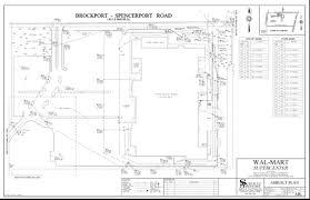 Walmart Floor Plan Project Examples Schultz Associates Rochester Ny Land