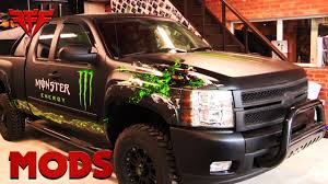 How To Build A Monster Energy Truck Fff Mods Youtube