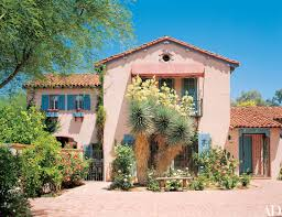 architectural digest tour linda ronstadt s mediterranean style home in tucson