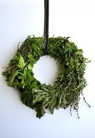 herb wreath fresh herb wreath home