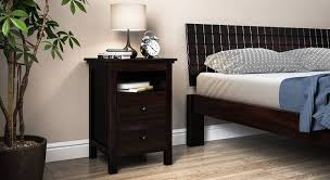 how high should a bedside table be snooze tall bedside table urban ladder