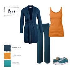 shades or orange how to wear navy autumns