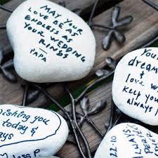 wedding wishing stones creative wedding guestbook ideas guestbook guestbook ideas and