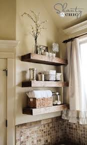 Bathroom Shelves Pinterest 15 Diy Space Saving Bathroom Shelving Ideas Bath Shelves And House