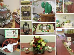Cowboy Table Decorations Ideas Western Baby Shower Table Decorations Best Decoration Ideas For You