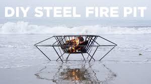 Steel Firepit Diy Steel Pit Welding A Pit Out Of Steel Rod