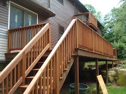 code requirements for handrails on exterior standard stair rail