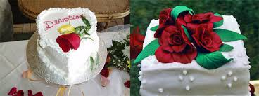 maui wedding cake decorations