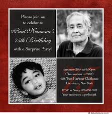 75th birthday invitations wording ideas free invitations ideas