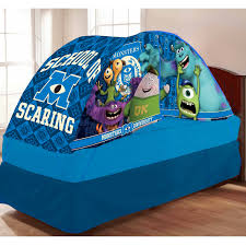 bed tent with light monsters university bed tent with pushlight walmart com by disney
