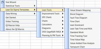 Six Sigma Excel Templates Qi Macros Spc Software For Excel Lesson 3