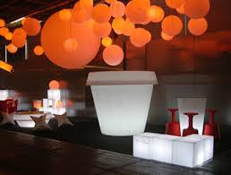 nightclub bar club led furniture charis tables objects