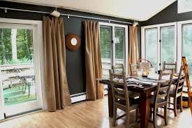 dining room drapes ideas casual window treatments single curtain