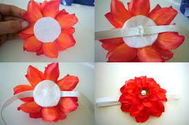 how to make baby flower headbands estylo jewelry flower headband or clip diy tutorial