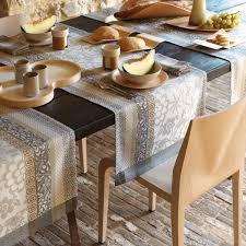 Coffee Table Linens by Le Jacquard Francais Provence Enduite Table Linens