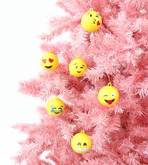 big emoji ornaments a subtle revelry