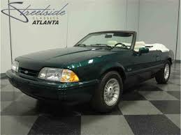 7 up edition mustang 1990 ford mustang lx 7 up edition for sale classiccars com cc