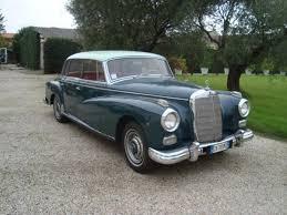 mercedes adenauer 1958 mercedes 300 adenauer saloon coys of kensington