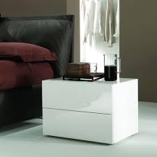 comodini in cristallo enea 01 comodino bontempi casa in legno e vetro con cassetti