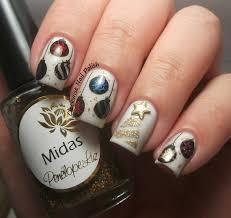 robin moses nail art christmas nail art nail art santa easy xmas