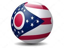 Ohios State Flag Ohio State Flag Globe Vector U2014 Stock Vector Aratum 40947995
