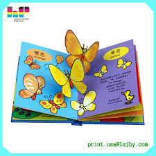 Children Sound Book Book Custom Book Printing High Quality Customized Baby Story Book Printing 3d Pop Up Children