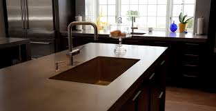 Concrete Kitchen Sink by Modern Concrete Farmhouse Kitchen Cheng Concrete Exchange